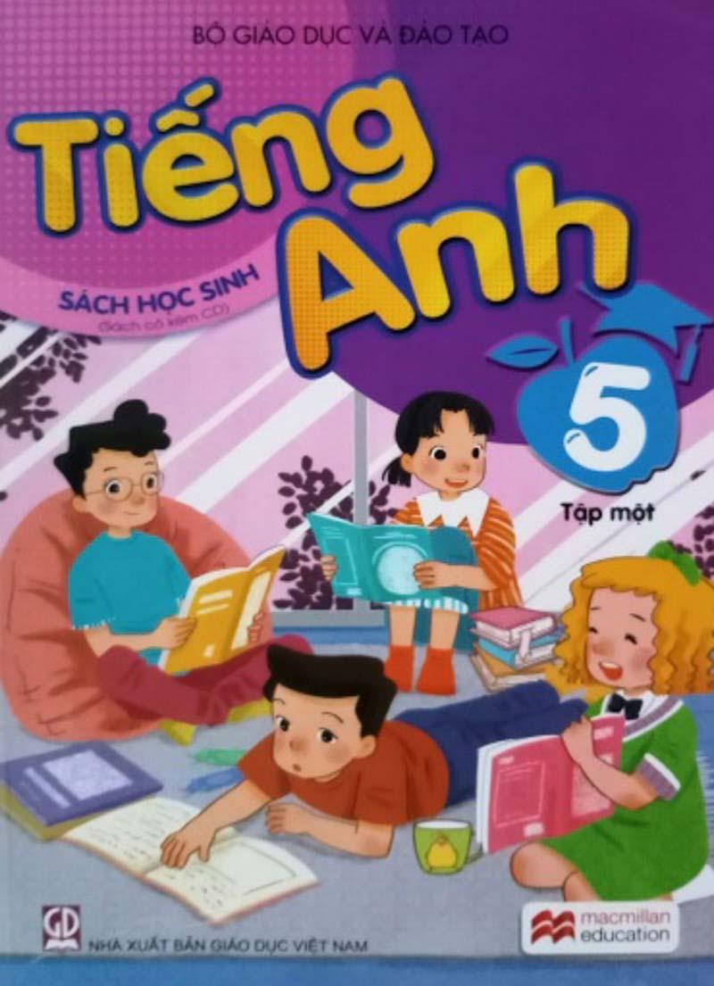 sách tiếng anh lớp 5 tập 1